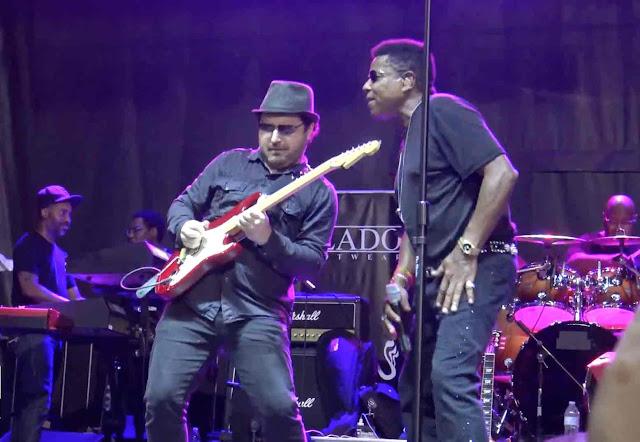 Tito Jackson Michael Jackson The Jacksons Tony Pulizzi Tony P TonyPguitar Tony Pulizzi Guitar Jackson5