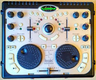 Controlador mezclador Hercules DJ Console