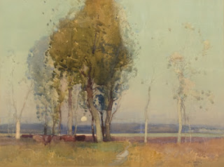 Sydney Long painting - Pastoral