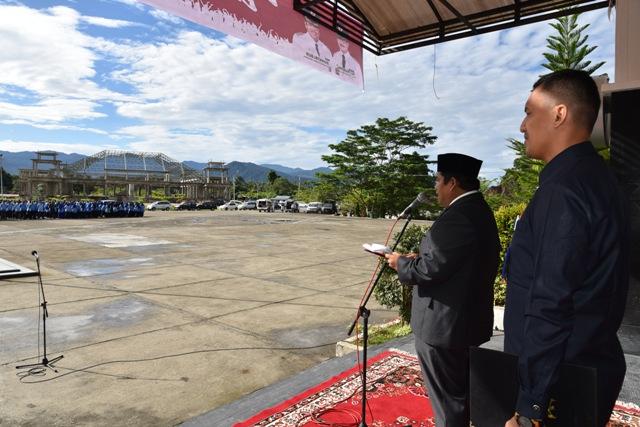 Wakil Bupati Pimpin Upacara Peringatan Hari Lahir Pancasila ke-73