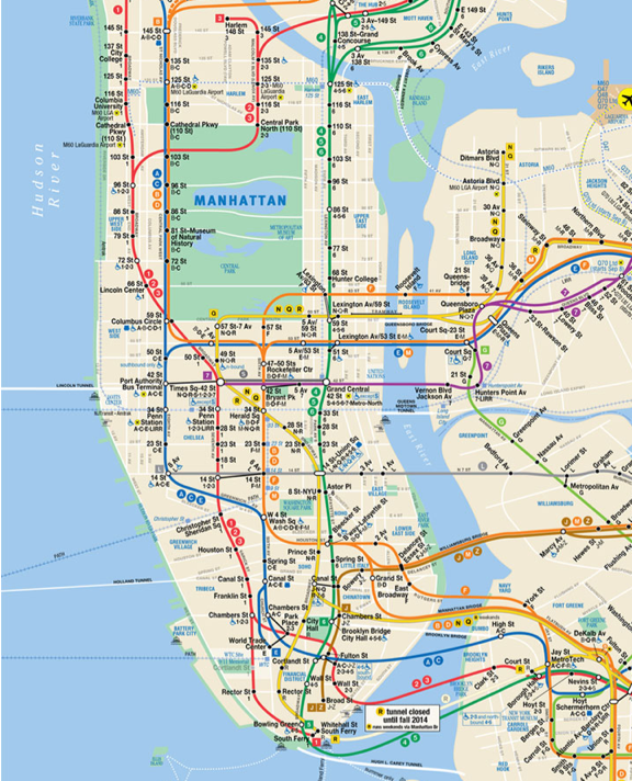 Ny Subway Map Background.T R A C E W O R K An Outsider S View Of The New York Subway Map