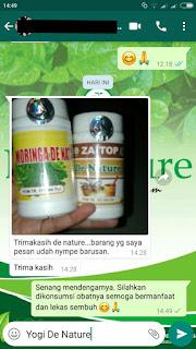 Testimoni Obat Asam Lambung De Nature Indonesia