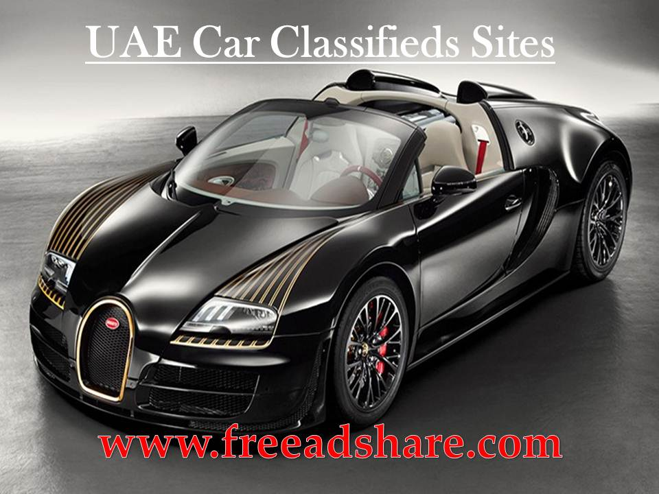 Top 50+ Free UAE Car Classifieds Sites List | 50 Best Post