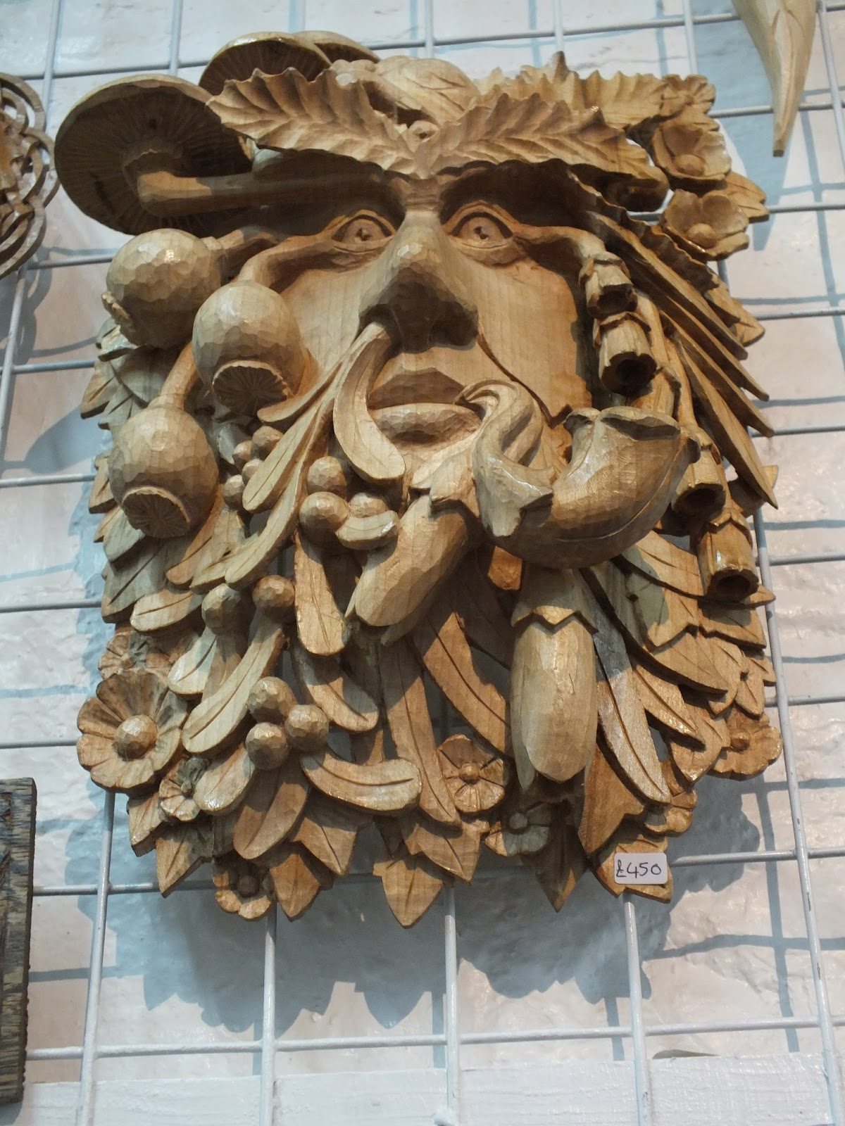 The green man of the wood by demonoftheheavens on deviantart