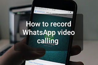 How to record whats App Video call
