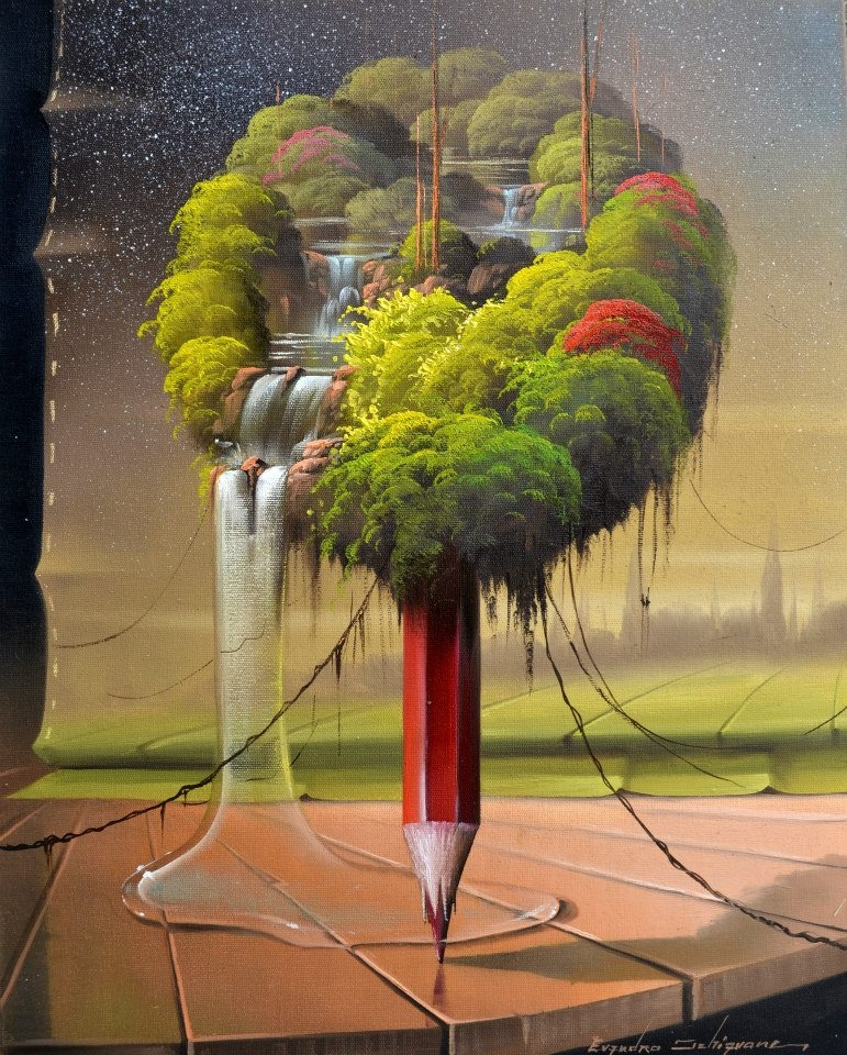 02-Evandro-Schiavone-Fantastic-Paintings-based-in-Surrealism