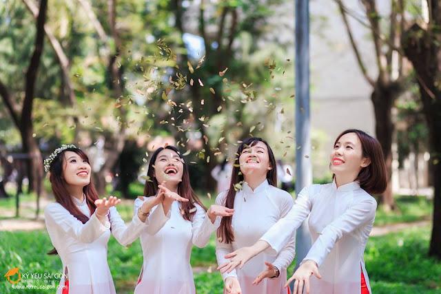 cho thuê áo dài quận Tân Phú