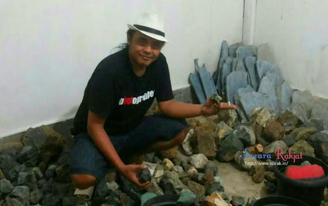 Bisnis batu akik meredup dan bangkrut