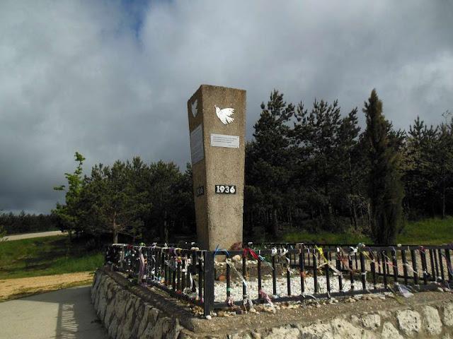 Alto de la Pedraja ,Montes de Oca, Camino, Jola Stępień
