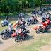 Katonai motoros kiállítás a negyedik Nemzetközi Oldalkocsis Találkozón Kiskunfélegyházán