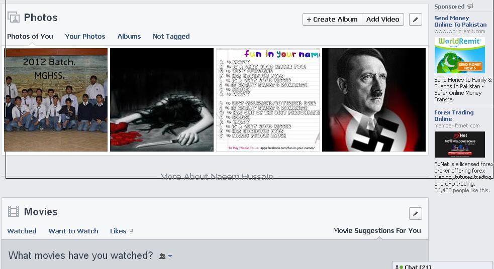 Facebook Photos and Albums