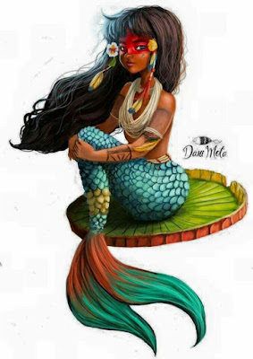 indian girl mermaid