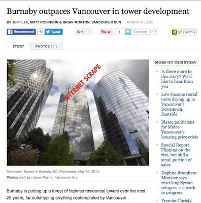 Burnaby News - Burnaby Outpacing Vancouver in Tower Development