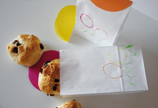 binedoro Blog, DIY, Food-Verpackung, wrapping, Quarkstütchen, Cranberries, backen, Rezept
