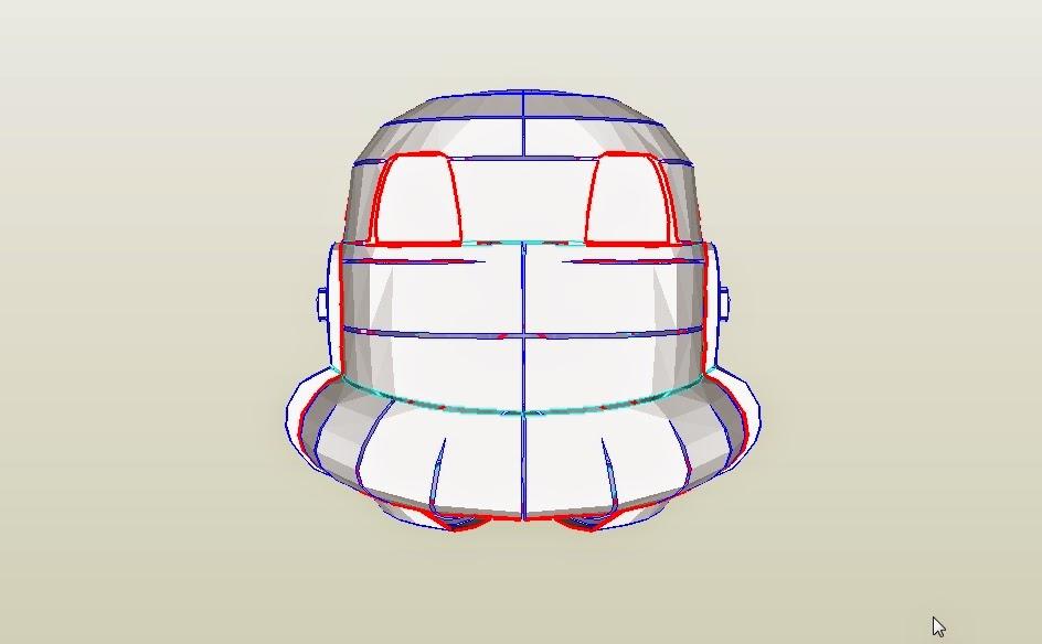 Dali lomo star wars stormtrooper helmet diy cardboard free template solutioingenieria Image collections