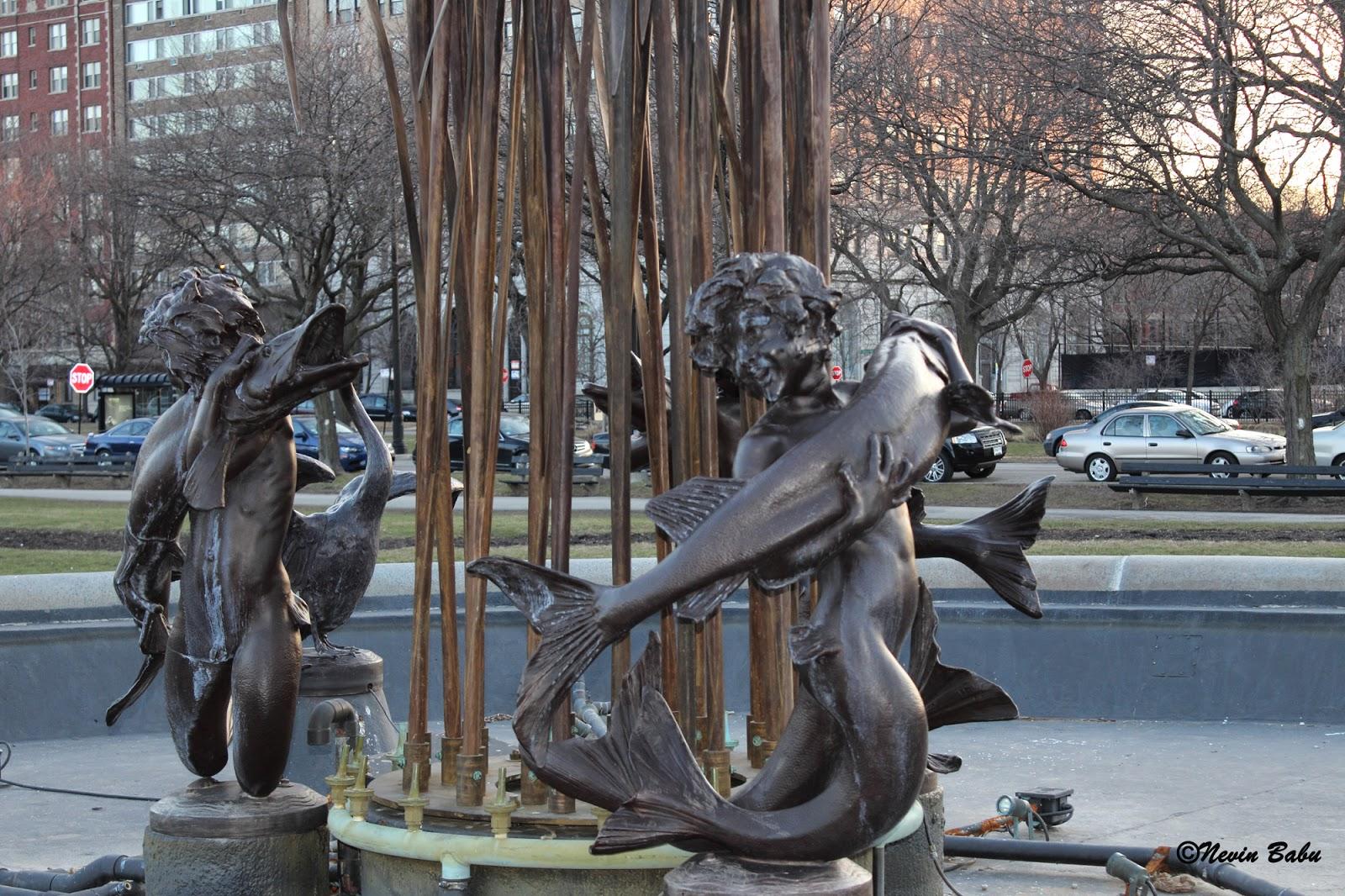 Eli Bates Fountain