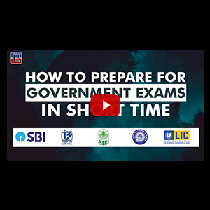 How To Prepare For Government Exams In Short Time