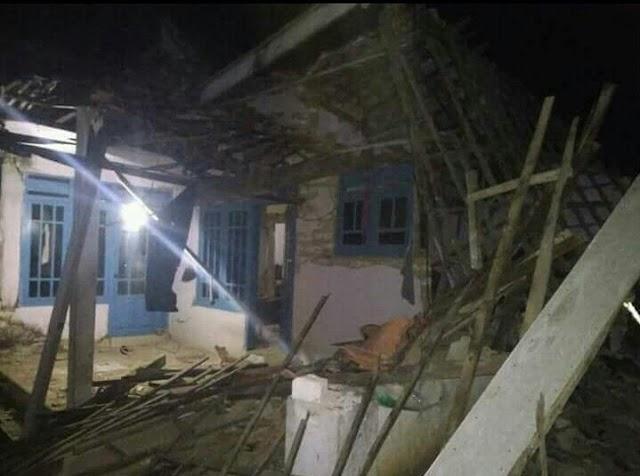Gempa Menyambut Hari Raya di Sumenep
