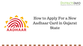 How to Apply For a New Aadhaar Card in Gujarat State