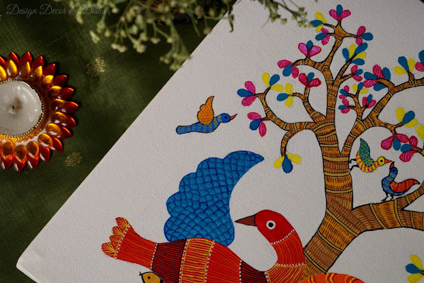Gond Painting Indian