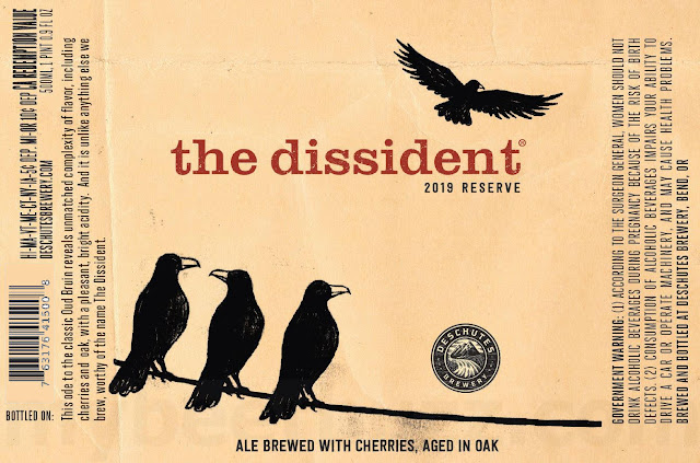 Deschutes Working On The Dissident 2019 Reserve