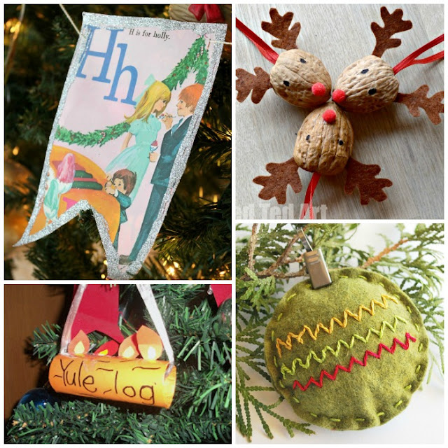 Alphabet of Christmas Ornament Crafts for Preschool Kids