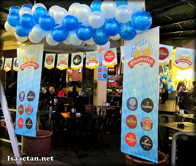 GAB Oktoberfest 2012 @ Laundry Bar The Curve