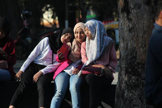 Jadi Baru Kebumen 2018 Tour To Bandung, Best Momen- mampir di base camp kawah putih bandung