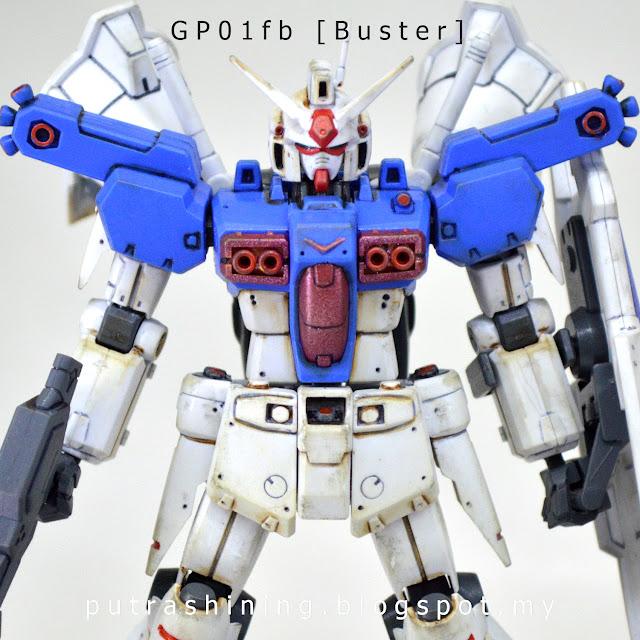 HGUC 1/144 RX-78GP01Fb - GUNDAM GP01Fb Custom by Putra Shining