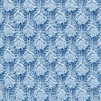 Textured Knitting 19: Palm Tree Puff | Knitting Stitch Patterns.