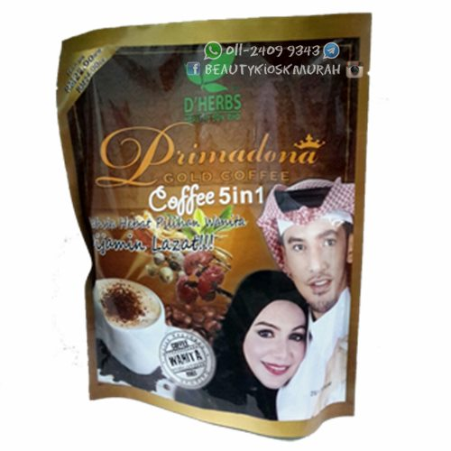 Primadona Gold Coffee 5 in 1