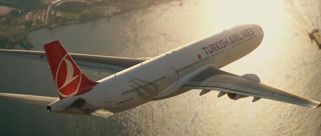 türk havayolları çin