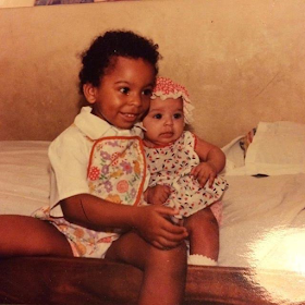 Adorable photo of Big Brother Naija housemate, TBoss as a little girl