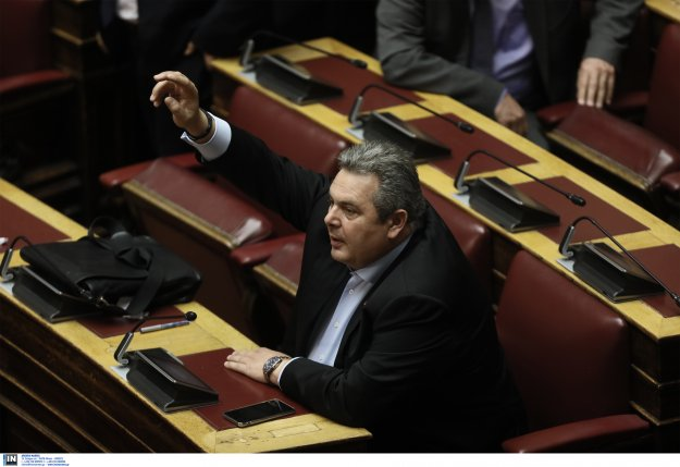Ο ΣΥΡΙΖΑ στηρίζει τον Καμμένο: Υπερψήφισε την μη άρση της ασυλίας του