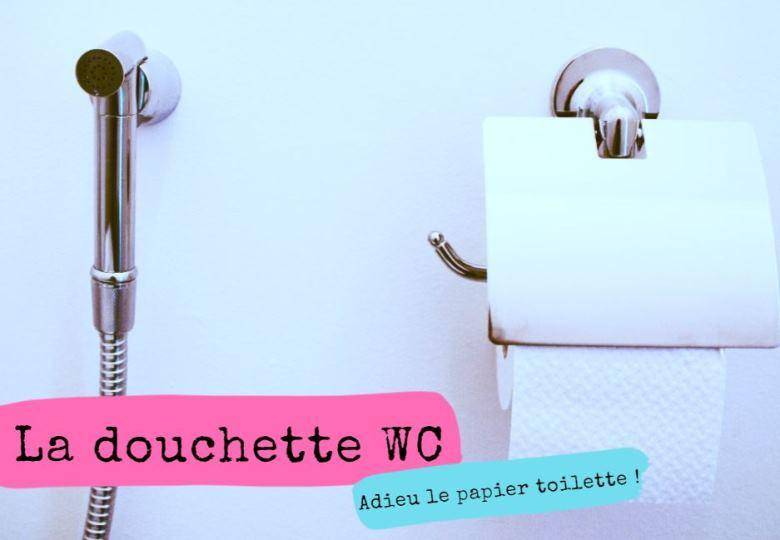 A mort le papier toilette : vive la douchette wc !