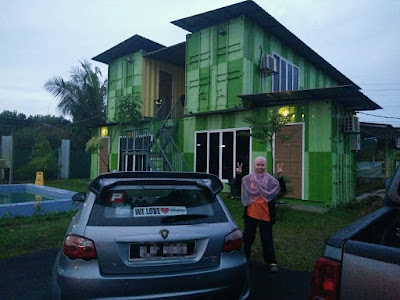 Homestay Ala Kontena di D'Alai Kontena Houz, Alai Melaka