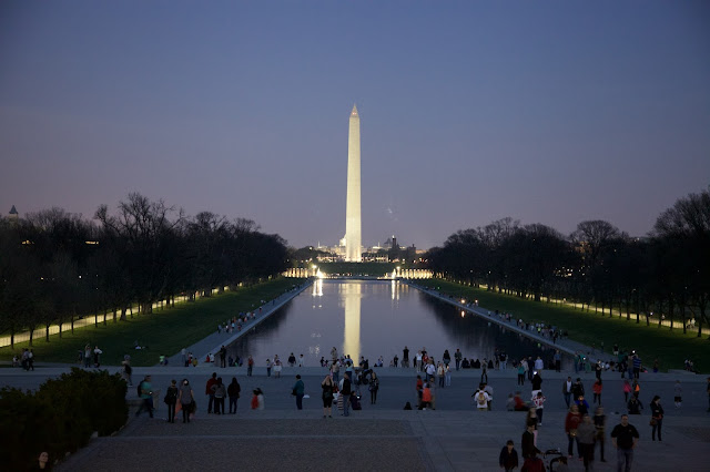 Washington Monument at Night, Washington D.C.