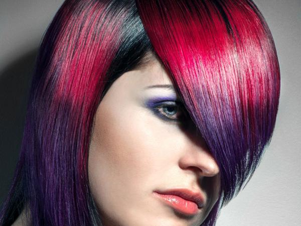 Crazy Hair Styles Unique Hair Color Designs