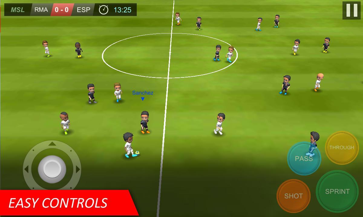 Mobile Soccer League MOD APK terbaru