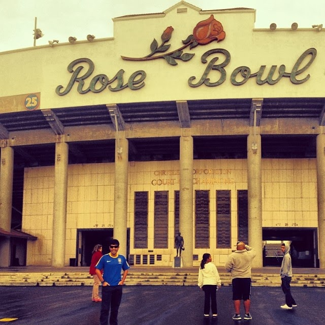 Estádio Rose Bowl - Los Angeles/EUA