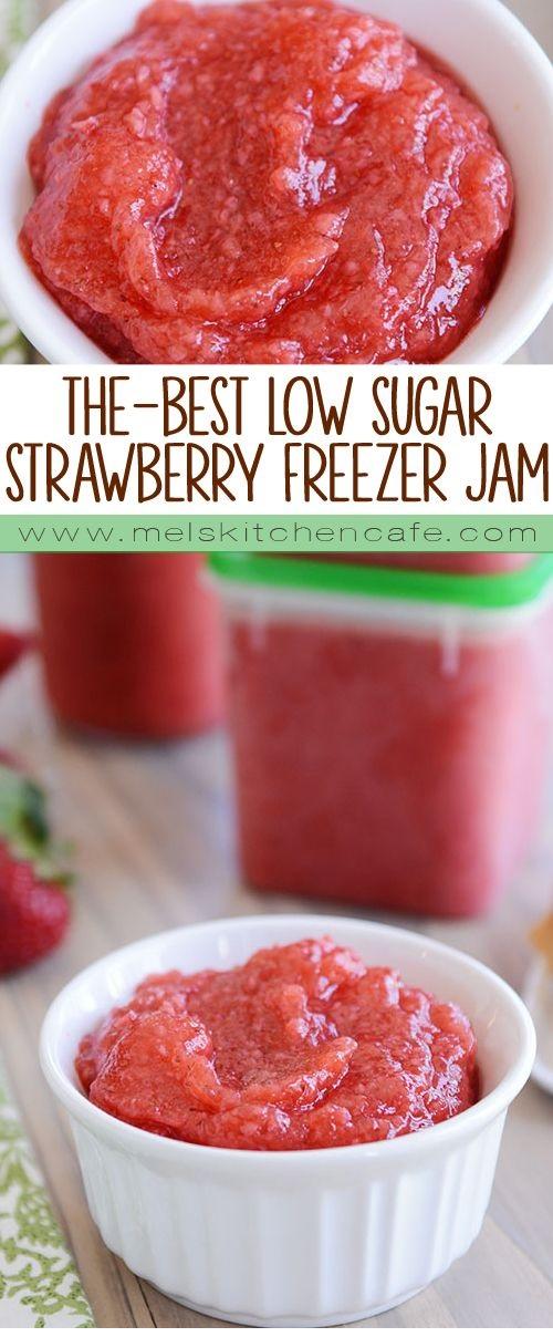 The Best Strawberry Freezer Jam