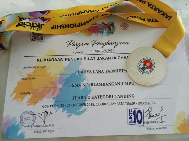 Even Jakarta Championship , Siswa SMAN 1 Blambanganumpu Ukir Juara Tingkat Nasional