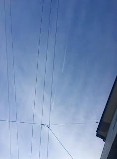 函館上空は飛行機銀座