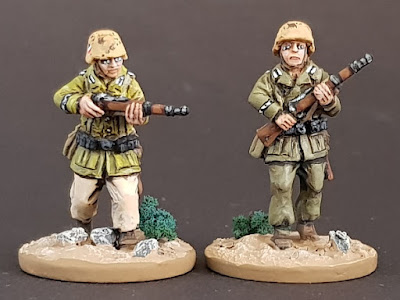 28mm DAK infantry