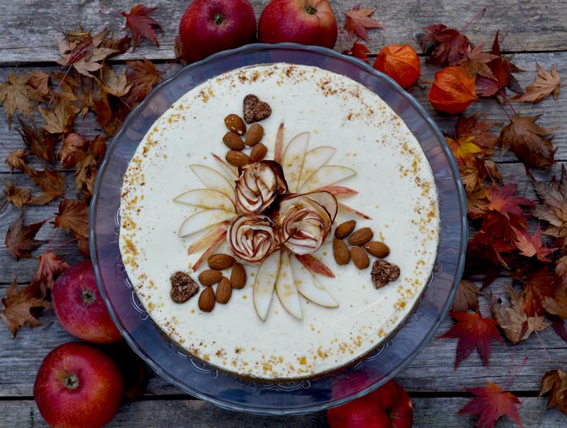 Jablková torta s mascarpone