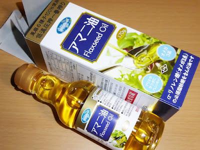 (株)朝日  アマニ油(Flaxseed Oil)
