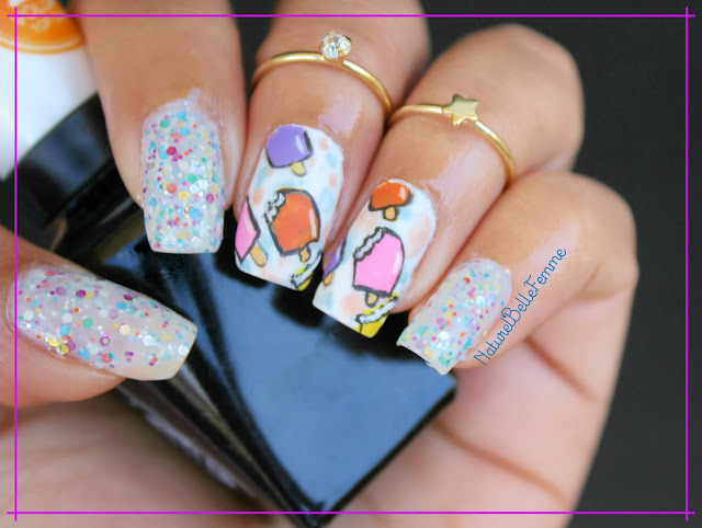 popsicle nail art