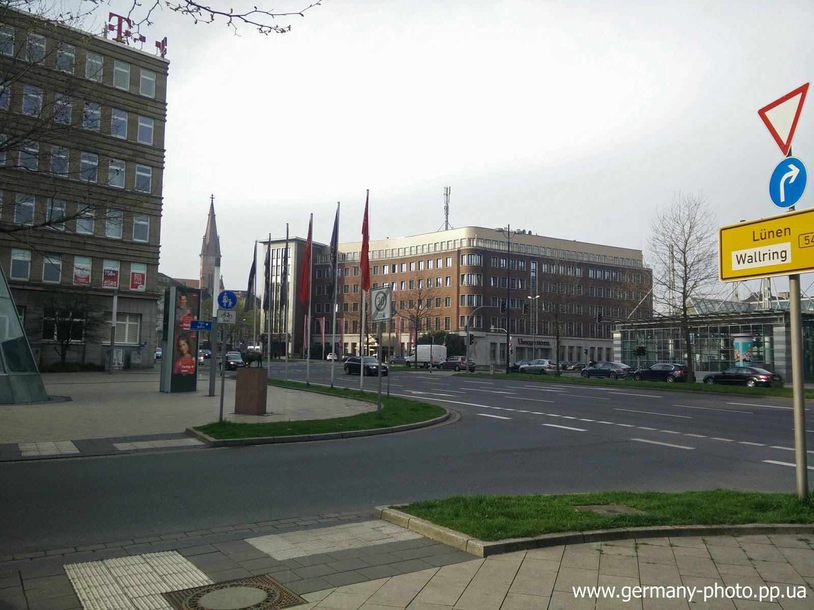 Один из проспектов в Дортмунде