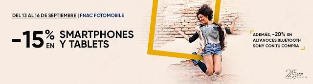 Top 10 ofertas -15% en smartphones y tablets Fnac.es