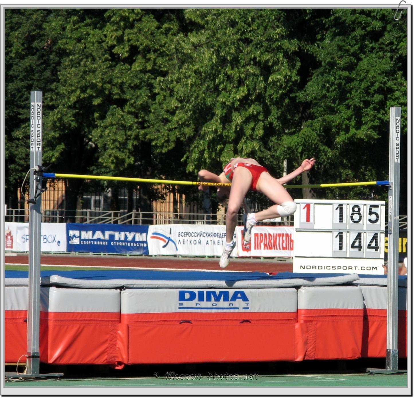 High Jump - Fosbury Flop
